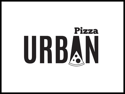 Urban Pizza Logo typography ui ux illustration vector logo brand identity brand design corporate design branding