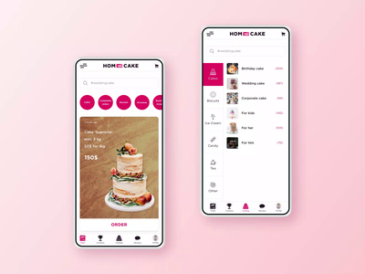 Pastry shop mobile App confectionery pastry pastry shop motion design mobile ui mobile app design mobile app mobile design