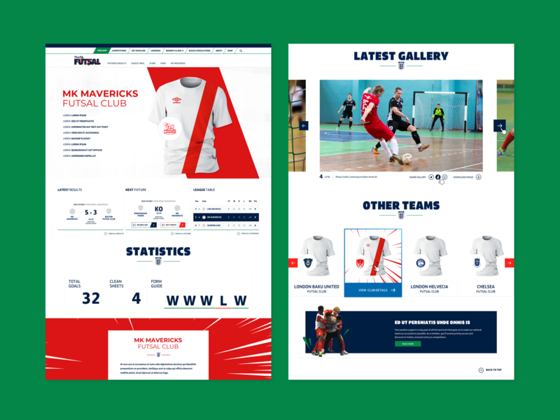 Dribbble Futsal 06