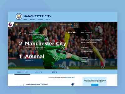 Manchester City FC - Match Day Center