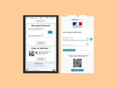 Redesign interface impôt