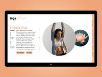 Yogaflow Interface