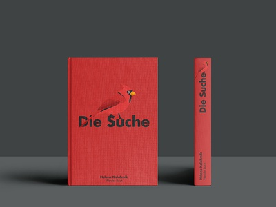 "Book Cover ""Die Suche"""