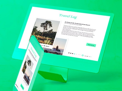 Travel Log Interface