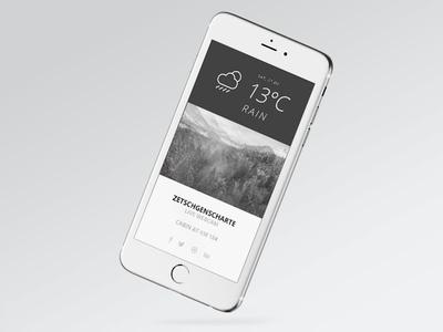 Peak Mobile Interface