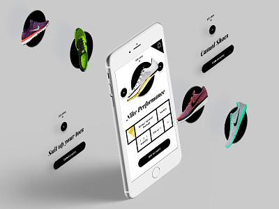 Apparel App Product View interaction black white clothing brand shoe minimal hud uiux ui view mobile web clothing design digital app apparel