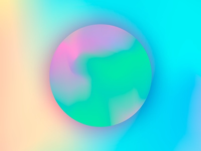 Iridescent moon fancy outer glow drop shadow moon iridescent photoshop illustrator colourful creative curated illustration digital design