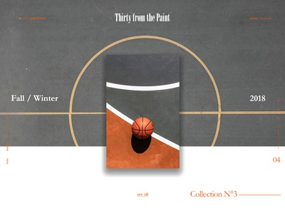 Thirty from the Paint