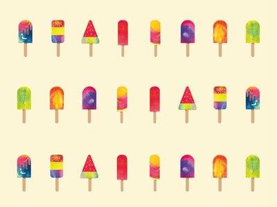 Popsicle collection