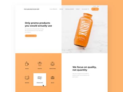 Foundershop new design