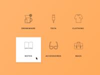 Foundershop's categories