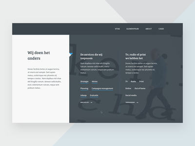 Header exploration webpage webdesign header ux ui