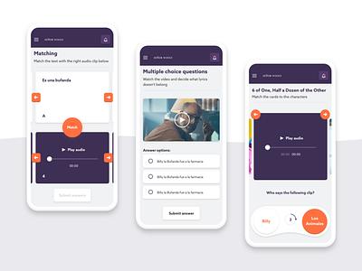 E-learning platform mobile games gamification games ux mobile ui e-learning