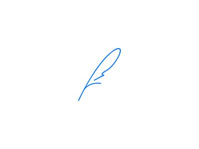 Weightless icon logo mark icon