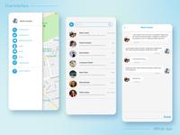 Chat interface - Carpool app