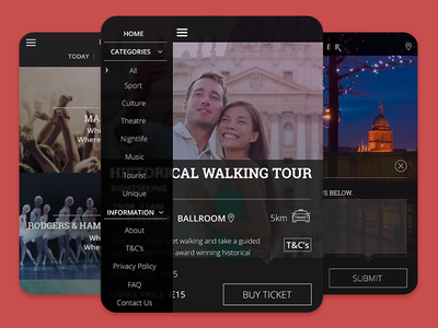 Event App ipad flat design app ios7 icons ui interface ux apple android monochrome