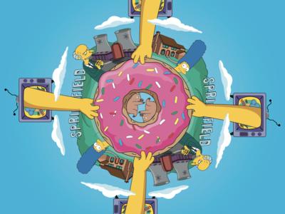 The Simpson's Mandala