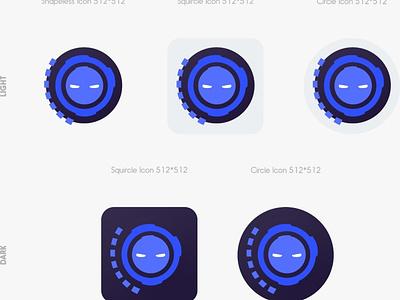 Extreme Personal Voice Assistant App Icon ui tony stark marvel jarvis iron man illustration design branding avengers assistant artificialintelligence ai
