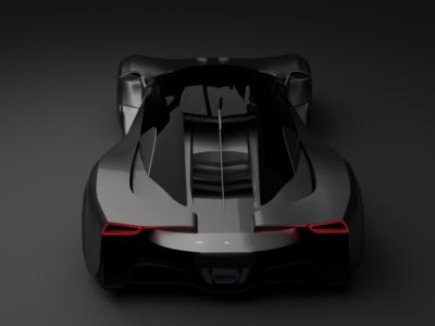 MSD Supercar Concept - rear