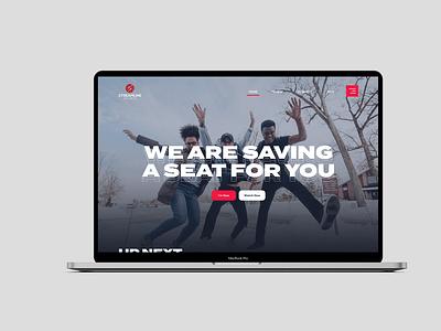 Clean Church Web UI logo ui design church church website christian branding