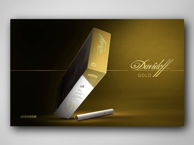 Davidoff Gold by Kishor Udmale on Dribbble