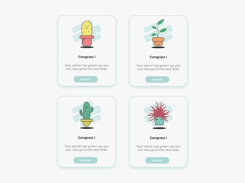 Pop-ups Plants mobile cactus illustration cactus illustrations illustrator plant illustration popup plants plant vector illustration interface designer design uidesign interfacedesign ux ui 016 dailyui
