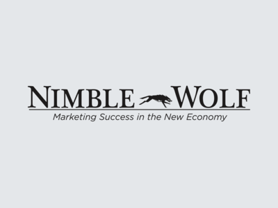 Nimblewolf Marketing Logo Design