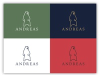 ANDREAS Logo Design