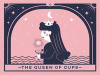 The Queen of Cups of Nuevo Studio