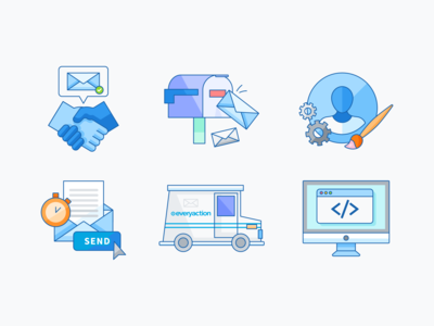 Email Deliverability Illustrations