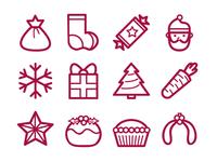 Christmas Icons 01