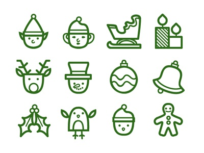 Christmas Icons 02