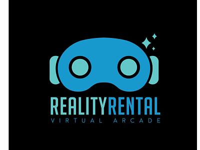 Logorr 01 adobe illustrator vector art logo design virtual arcade gaming retro design arcade logo retro logo arcade vr virtual reality