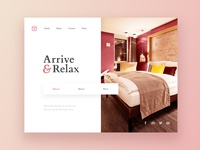 Hotel Chain Website Concept | web