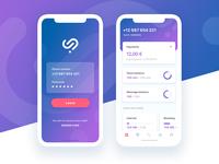 Telecom Mobile App Concept | iOS app