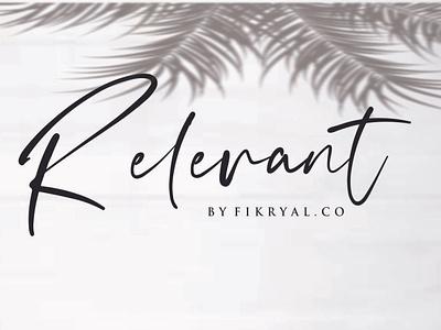 Relevant vector product designs photography font advertisements tittle script lettering logo design branding