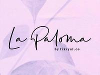 La Paloma // handwritten font