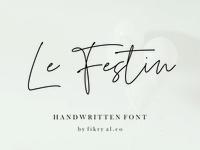 Le Festin // handwritten font