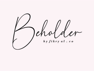 Beholder Font web design magazine special event watermark photography label product designs product packaging advertisements social media posts wedding designs tittle invitation branding logo