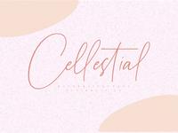 Cellestial font
