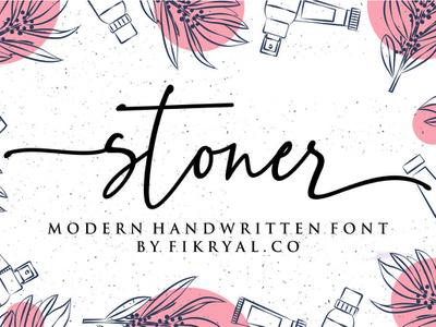 stoner font typography script font script lettering font design web magazine special event watermark photography label product designs product packaging advertisements social media posts wedding designs tittle invitation branding logo