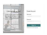 Daily UI- Sign Up Form