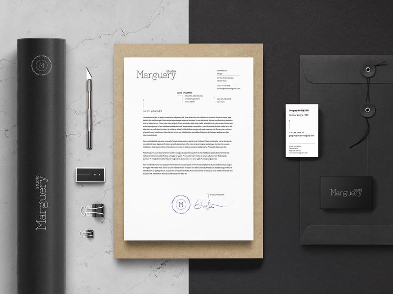 Marguery studio / Visual identity