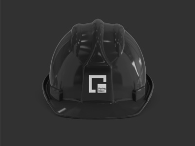 Paving Direct – Identity Design identity brand identity architect architecture building engineering builder paving bold masculine square strong logo logo design black container