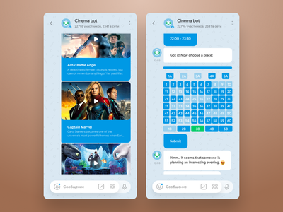 Telegram concept redesign app animation whatsapp ux ui telegram redesign messanger messaging contest concept clear clean chatting chat blue app andrroid