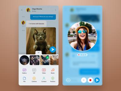 Telegram concept redesign