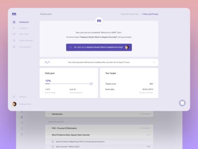 Mindojo educational platform redesign