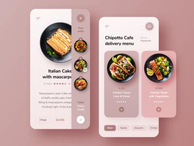 Chipotto Cafe Delivery Menu App