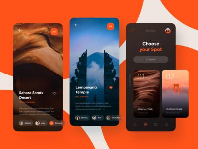 Spotter - Travel App