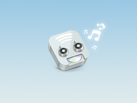 Robot Icon No 1